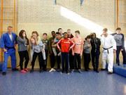 Abbildung Judo mit integrativer Klasse und Talent-Kids